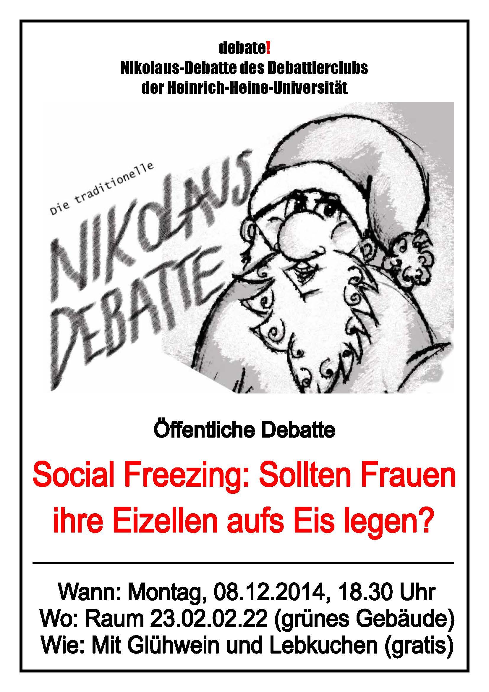 2014 12 02 Aushang Nikolausdebatte 2014